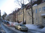 Townhouses in Munkkiniemi.
