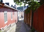 One of the narrow streets in Old Porvoo. Photo courtesy of the city.