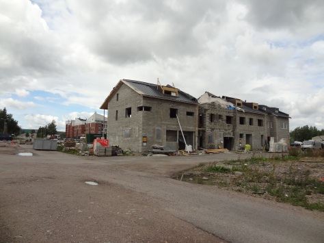 """More Helsinki townhouses coming up! Hopefully the """"town"""" aspect will follow suit."""