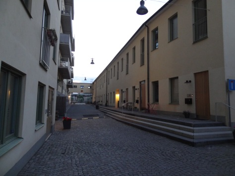 Previously lamps were produced around here in Stockholm. Now you can enjoy living in a townhouse instead.