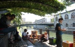 Library under the trees. Source: Visit Ljubljana Pinterest boards.