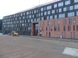 The Nordea headquarters in Vallilla. Big building, one door.