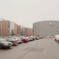 Plaza Business Park, Vantaa. Energy-efficient office buildings feat. a parking lot AND a multi-storey car park.