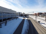 View towards Malmi station.