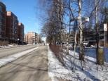Along main street Pukinmäki.