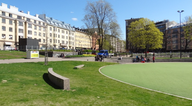Helsinki's Lastenlehto Park a Benchmark for the Design of Contemporary Finnish Urban Open Spaces