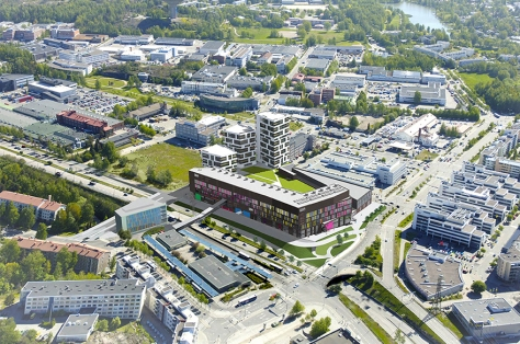 Gigahertsi mall is estimated to open in 2015 in Herttoniemi. Yes, believe or not, another mall. Image source: gigahertsi.fi