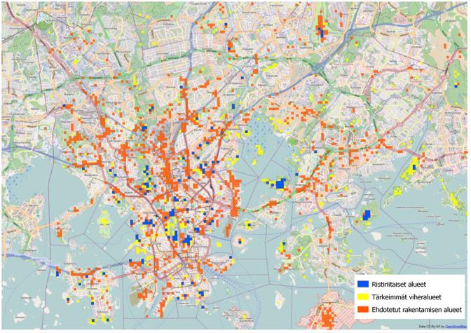 PehmoGIS-menetelmillä kohti asuintoiveita priorisoivaa kaupunkikehittämistä