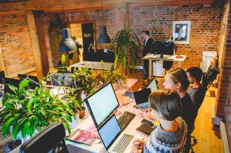 Hub at work. Photo by Anssi Kumpula.