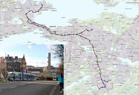 Tampere tram.