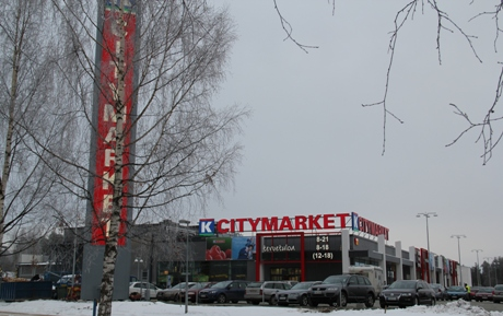 K-Citymarket Iisalmi. Photo courtesy of Kesko.