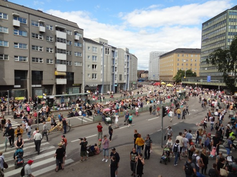 Kallio Block Party.