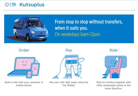 Kutsuplus Service.