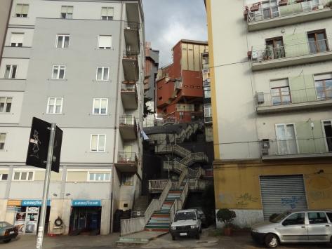 Potenza stairway