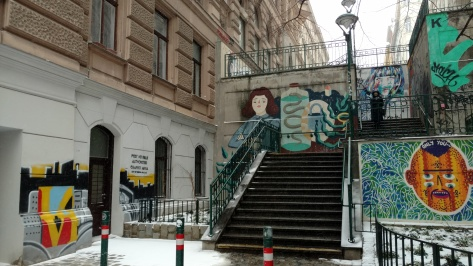 Vienna graffiti zone